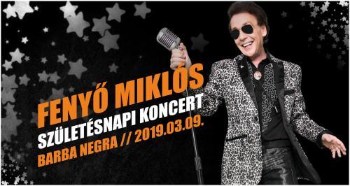 Születésnapi koncert | Fenyő Miklós